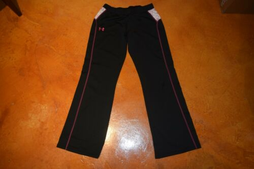 Under Armour Youth Girls XL Black Pants