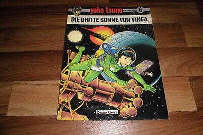 YOKO TSUNO # 6 -- die DRITTE SONNE von VINEA // Carlsen Comics 1. Auflage 1984