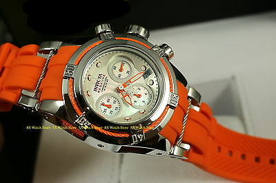 18683 Invicta Reserve Women's Bolt Zeus Swiss Qtz Chronograph Orange Strap Watch