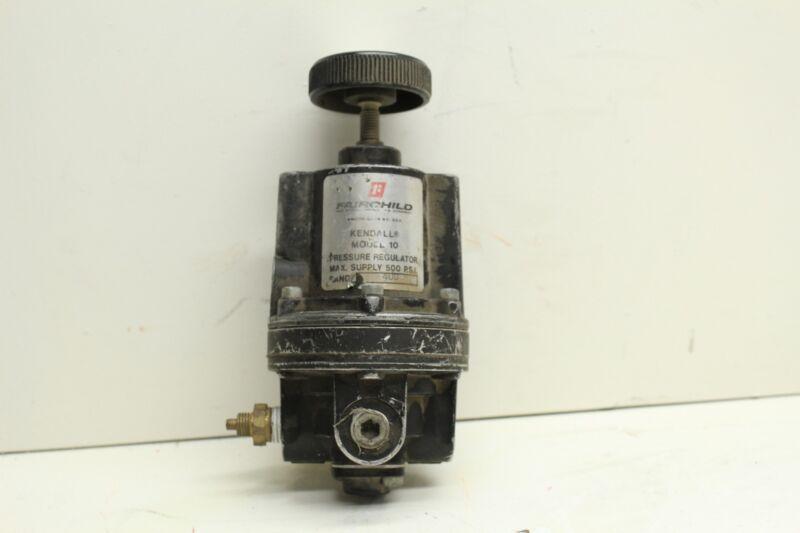 Fairchild Kendall Model 10 Pressure Regulator 500PSI Max