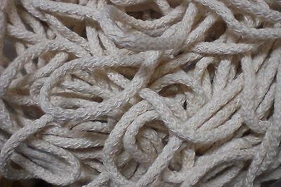 SUPERANGEBOT Flechtkordel roh Baumwolle, ca. 5mm dick 10m 2,98€