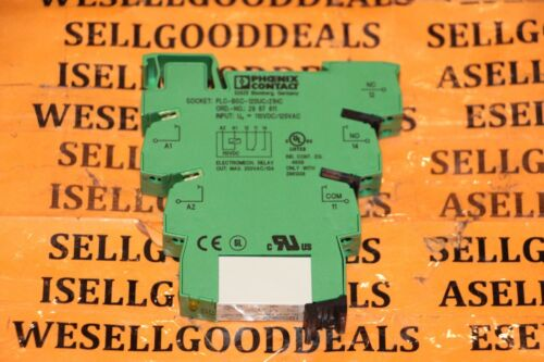 Phoenix Contact PLC-RSC-120UC/21HC Relay Module 2967662 New