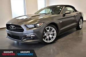 Ford Mustang GT CONVERTIBLE 50IEME ANNIVERSAIRE + CUIR + GPS!!!