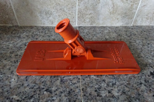 "3M Doodlebug Floor Pad Holder Orange, 9"" Length x 3.75"" Width, Plastic (QTY 1)"