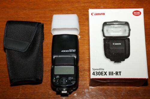 Canon Speedlite 430EX III-RT Shoe Mount Flash Mint condition
