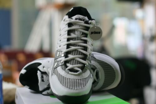 PRINCE RACQUETBALL SHOES T22 MID WHITE MENS SIZE 11 MID ANKLE SUPPORT