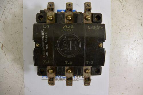 Arrow Hart 31603 3Ph Contactor w/ 110 volt coil - tested