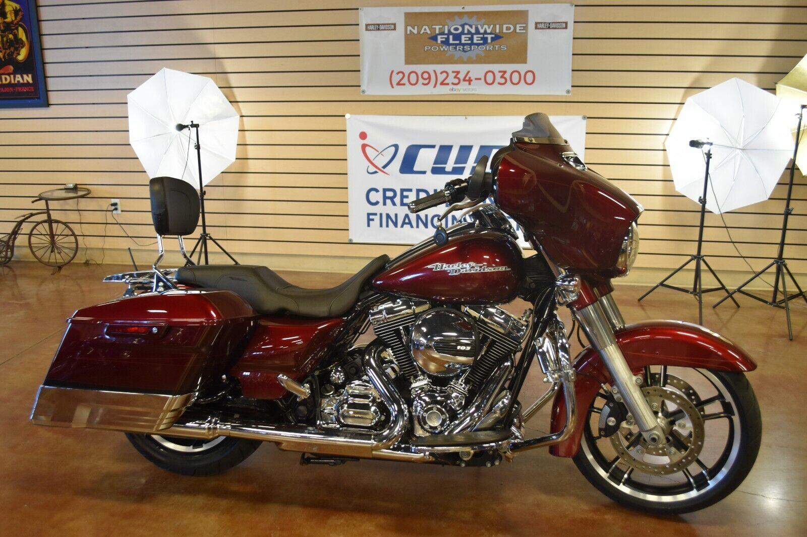 2014 Harley Davidson Street Glide Special FLHXS Custom 103 Touring NO RESERVE