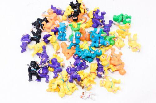 "50+ Mini Ninja Action Figurines 2 inch 2"" Bulk NINJAS"