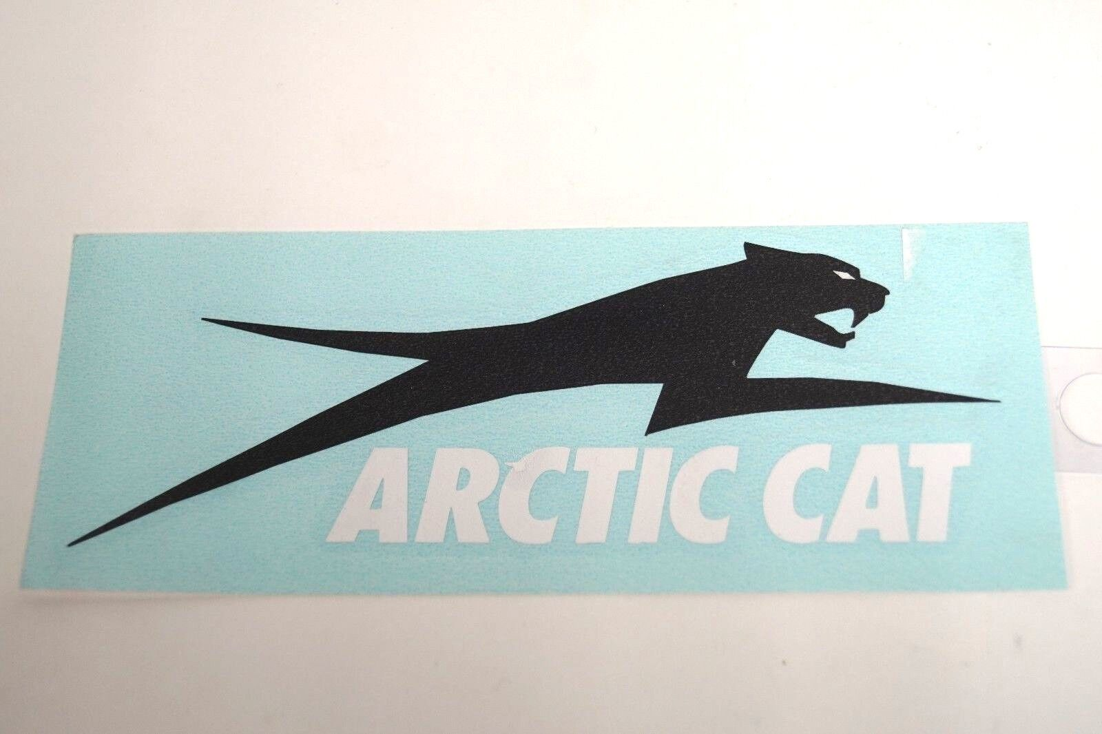 "OEM Arctic Cat White Aircat Decal Sticker 6"" 4299-731"