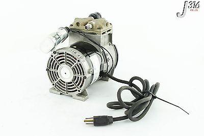 4128 Rietschle Thomas Piston Air Compressor Vacuum Pump 688ce44
