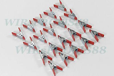 20x WÄSCHEKLAMMERN Klammern Zwinge 50 mm +++NEU+++ aus Metall