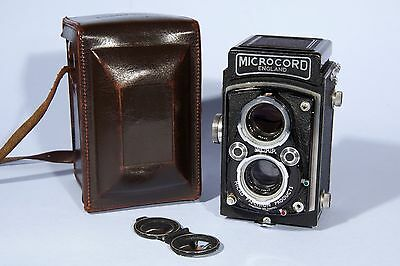 Microcord TLR Camera MPP Ross Xpres 77.5mm f/3.5 Lens * Fully Working