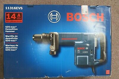 Bosch 11316evs 14 Amp Sds-max Demolition Hammer New In Box W Free Shipping