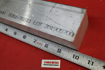 2 X 2 Aluminum 6061 Square Bar 10 Long Solid T6511 New Extruded Mill Stock