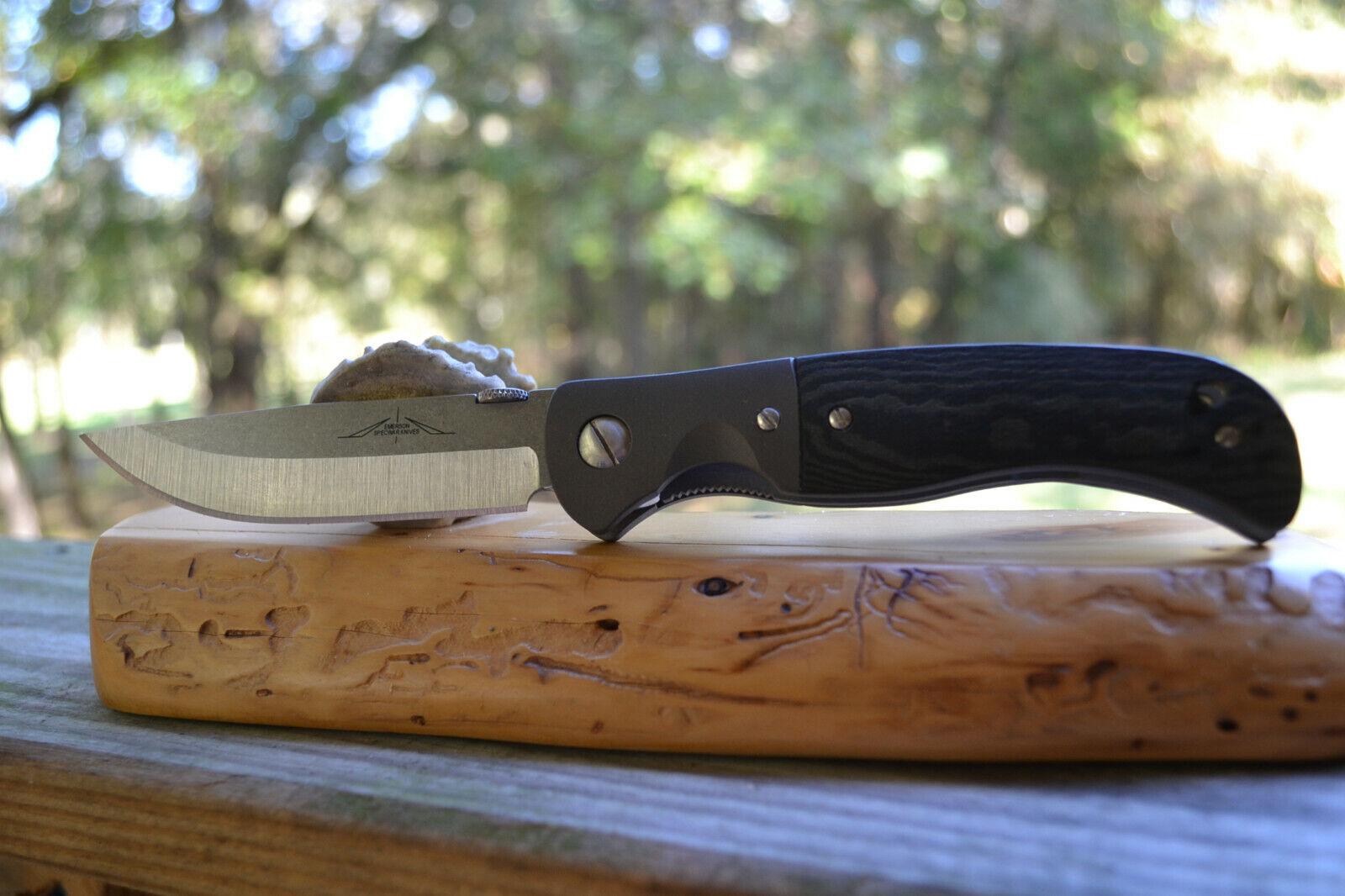 Emerson Custom  Folding Steak Knife