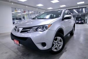 2014 Toyota RAV4 LE  LE AWD, ORIGINAL RHT VEHICLE, ONE OWNER,NON