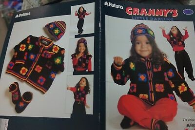 Шаблоны Paton's Knitting Booklet 571CC Granny's