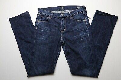 Citizens of Humanity Womens Jeans Size 28 Elson Medium Rise Straight Leg Dark