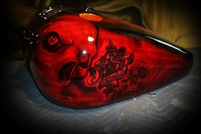 Custom Paint on your parts Harley Davidson softail tank front rear fender dyna
