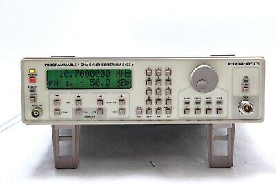 Rohde Schwarz Hameg 1ghz Synthesizer Hm8133-2 Sr133962p00797