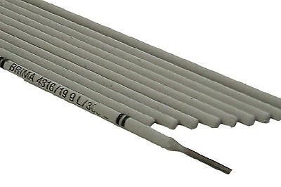 Electrodos de Soldadura de Acero Inoxidable 2,5 X 300MM 10 Unidad Electrodos