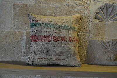 Rustic Kilim Cushion, Cushions, Bohemian  Kilim Cushion, Antique Vintage Kilim