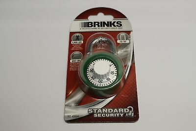 Brinks 162-49004 1316 Inch Dial Padlock Standard Security Cut And Pry Resistant
