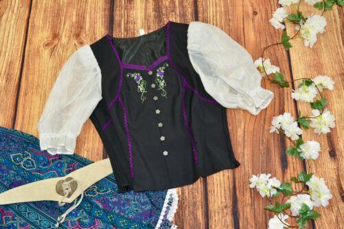 Dirndl blouse Bavarian blouse Oktoberfest blouse Size 46 / L
