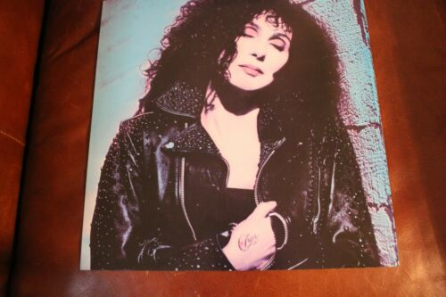 CHER 1987 RARE PROMO FLAT GEFFEN RECORDS  2 SIDED 12.5 x 12.5