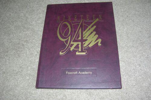 1994 Foxcroft Academy Yearbook, Dover-Foxcroft Maine-ME