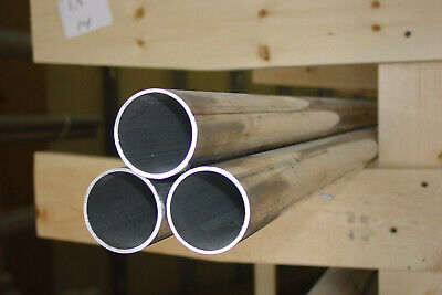 2 Alu. Tube Tubing Pipe 12 Long .083