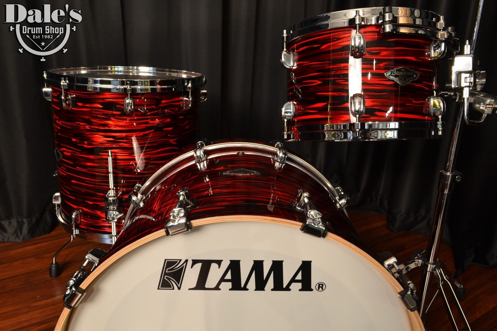 Tama Drums Sets 3pc Starclassic Performer B B Red Oyster 8x12 16x16