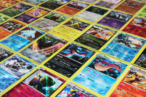 Pokemon TCG : 100 CARD LOT Rare Common Uncommon GUARANTEED RARES & HOLO CARDS!!