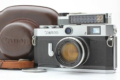【NEAR MINT + Meter & Case】 Canon P + 50mm f1.8 LTM + Instruction from Japan #235