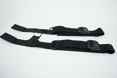 New Fire-dex Sewn In H-back Suspenders With Camlocks And Padding 40-44 Svhc