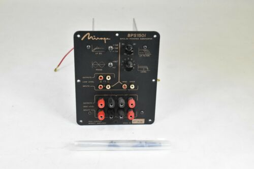 AMP & XOVER FROM MIRAGE BPS150i POWERED SUBWOOFER, EXCELLENT