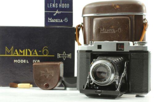 🔴FedEx【 CLA,d Near Mint in Box 】 Mamiya 6 Ⅳ B 6x6 Rangefinder camera from Japan