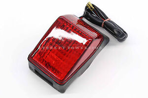 New Enduro Tail Brake Light 12V Honda Suzuki Yamaha Kawasaki KTM #a23