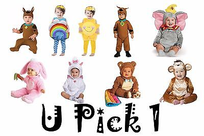 Dress Up Play Halloween Costume Baby Infants Toddler Boys Girls Pretend