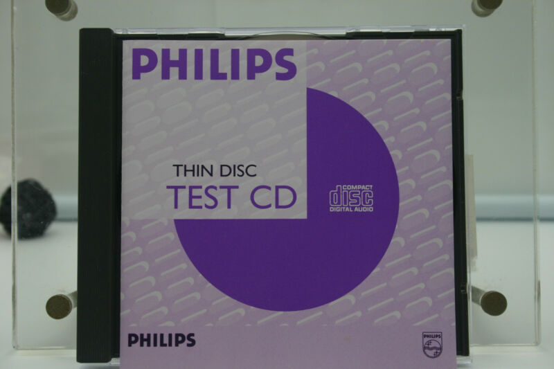 PHILIPS Test sample thin disc/710408709951;Thickness=1.1mm