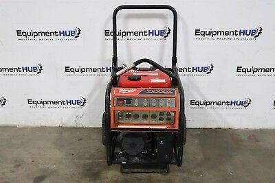 Milwaukee 4960-24 6000 Watt Honda Engine Gas Powered Generator