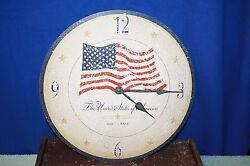 Howard Miller® Moment In Time, The Old Glory Clock 13 Wall Clock