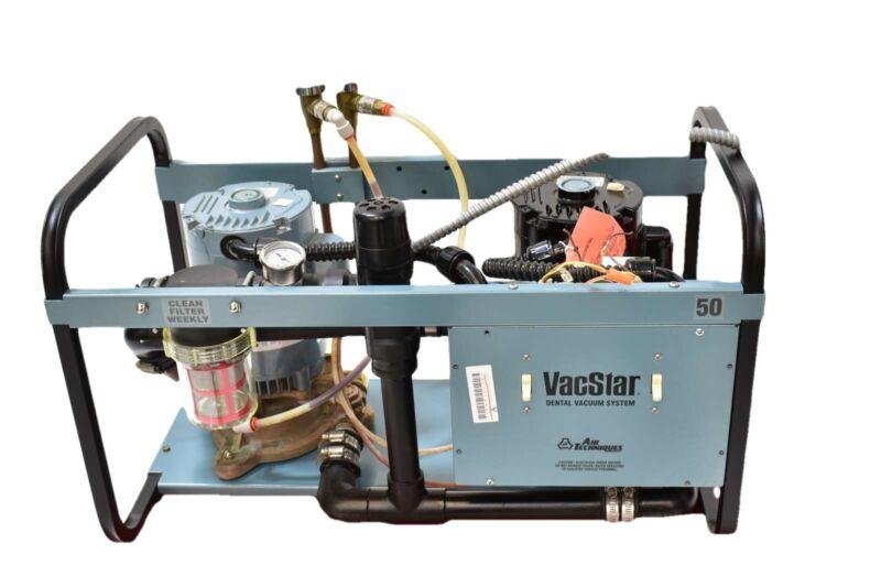 Air Techniques VacStar 50 Dental Vacuum Pump W/ 1 Year Warranty - REFURBISHED
