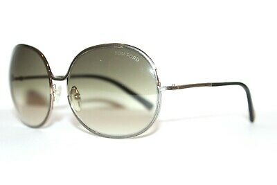 NEW TOM FORD TF118 28P ALEXANDRA GREEN GOLD AUTHENTIC SUNGLASSES TF 118 59-16 MM