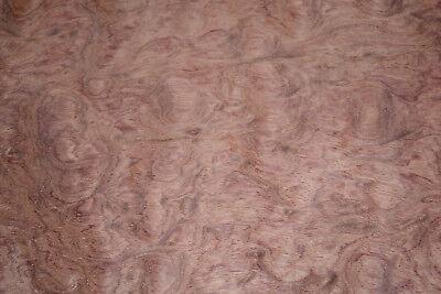 Bubinga Raw Wood Veneer Sheets 15 X 35 Inches Aka African Rosewood C2143-22
