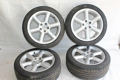 2004 INFINITI G35 S COUPE #116 350Z NISSAN WHEELS RIMS SET W/ TIRES - Infiniti G35 Coupe Tires