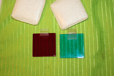 Microscope Square Filters 51.7mm Read And Blue