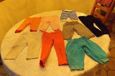 Разное lot of 8 girl pants