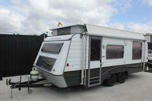1994 Statesman Royal Pop Top Caravan 19ft